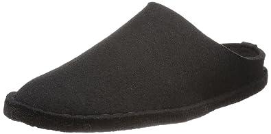 Haflinger Flair-Soft, chaussons d'intérieur adulte mixte - Noir - Noir,