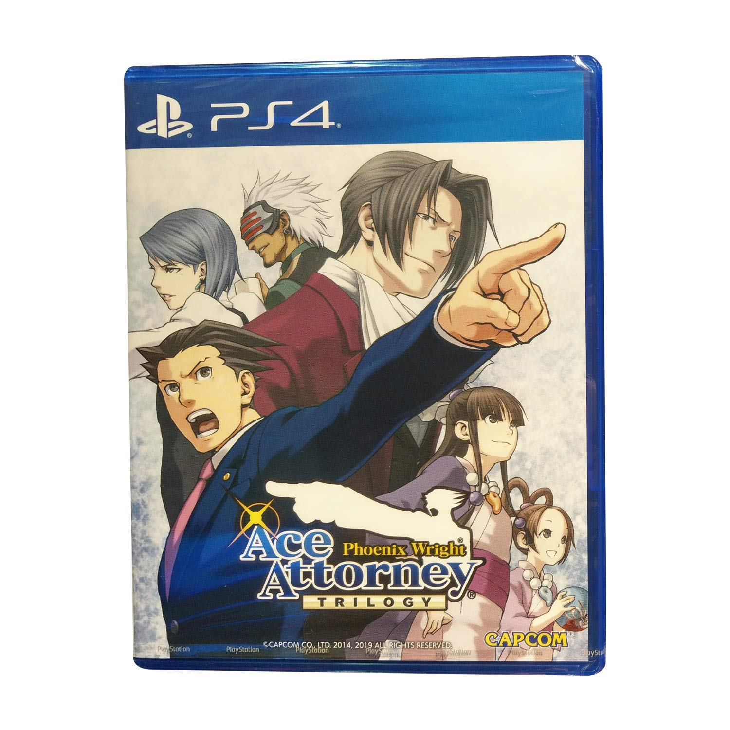 PS4 Phoenix Wright Ace Attorney Trilogy (English Subs) for PlayStation 4