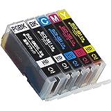 【5色セット 顔料ブラックは増量版】 キヤノン 用 BCI-381+380/5MP 互換インク( 2344C001 互換) 【 BCI-381互換/ BCI-380XL 互換】 ISO14001/ISO9001認証工場生産商品 残量表示対応ICチップ 1年保証 インクのチップスオリジナル 対応機種: PIXUS TS8230 / PIXUS TS8130 / PIXUS TS6230 / PIXUS TS6130 / TR9530 / PIXUS TR8530 / PIXUS TR7530