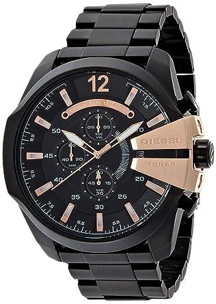 8978e53cdf Amazon | ディーゼル DIESEL クオーツ メンズ クロノ 腕時計 DZ4309 ...