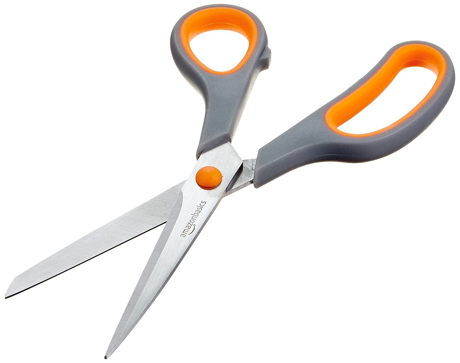 craft scissors orange black handles