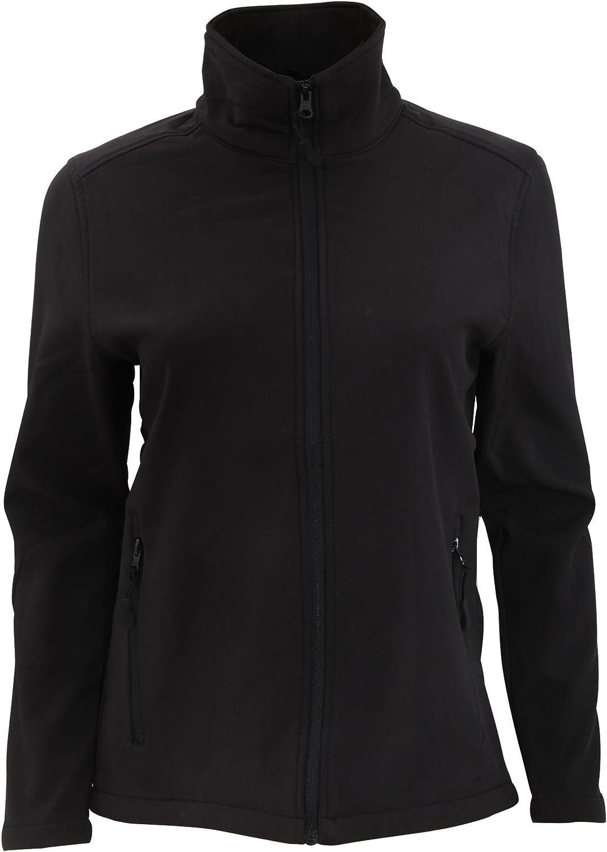 SOLS Race Femme Veste Softshell zipp/ée anti-pluie