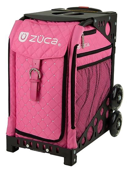 59700bf950 Amazon.com   ZUCA Bag Pink Hot Insert   Black Frame w  Flashing ...