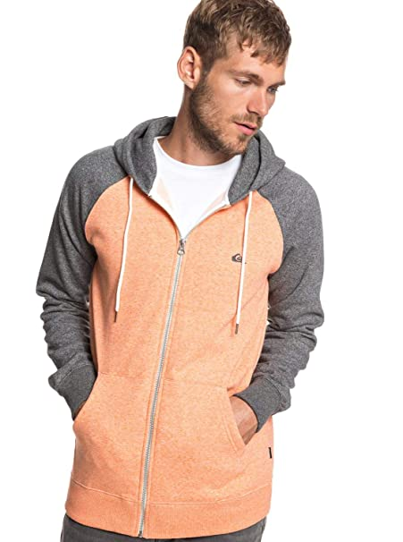 186e9606efa Quiksilver Everyday - Zip-Up Hoodie for Men EQYFT03849  Quiksilver   Amazon.co.uk  Clothing