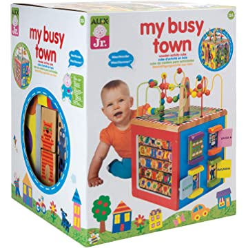 mini Alex Discover My Busy Town Activity Cube