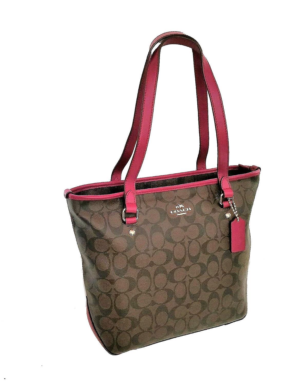 373163d58a4 Amazon.com  Coach Signature Zip Top Tote Bag  Shoes