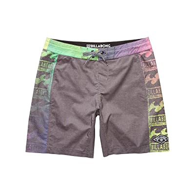 "2017 Billabong Re-Issue Lo Tides 18"" Boardshorts BLACK C1BS17"