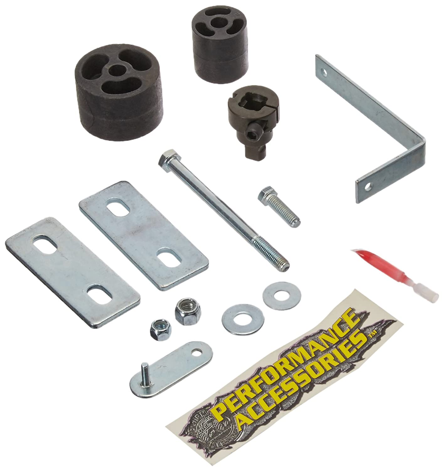 Performance Accessories PA822 fits 1992 to 1997 Made in America Ford F-150//F-250//F-350 Gas 2WD and 4WD 2 Body Lift Kit