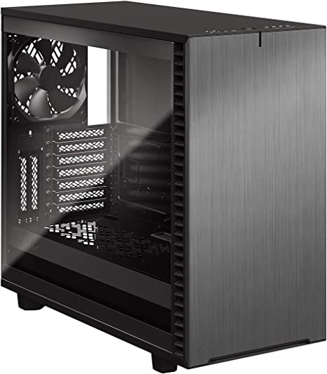 Amazon Com Fractal Design Define 7 Gunmetal Brushed Aluminum Steel E Atx Silent Modular Tempered Glass Window Mid Tower Computer Case Gray Tg Light Tint Fd C Def7a 08 Computers Accessories,Small House Simple Ceiling Design With Cement