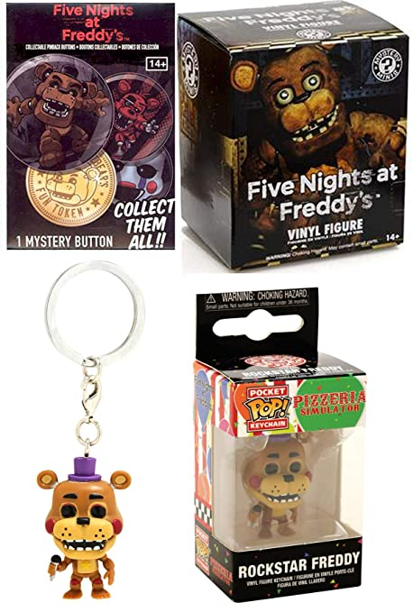 Amazon.com: Pizzeria Band Mini Figure Five Nights at ...