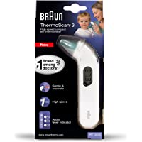 Braun Thermoscan 3 thermomètre auriculaire blanc
