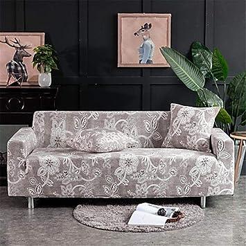 Proteja los muebles del sofá de 4 asientos. Moderna cubierta ...