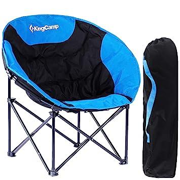 KingCamp Moon Chair de Easy Up hasta 120 kg Camping Silla de ...