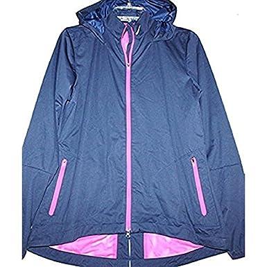 152852f420 Amazon.com  Nike Golf Women s Wind Resistant Full Zip Hooded Jacket ...