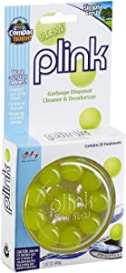 Compac's Plink Garbage Disposal Cleaner & Deodorizer Infuses and Freshens Your Entire Kitchen Waste Disposal Cleaner Simply Fresh Scent, Value Pack 20 Count