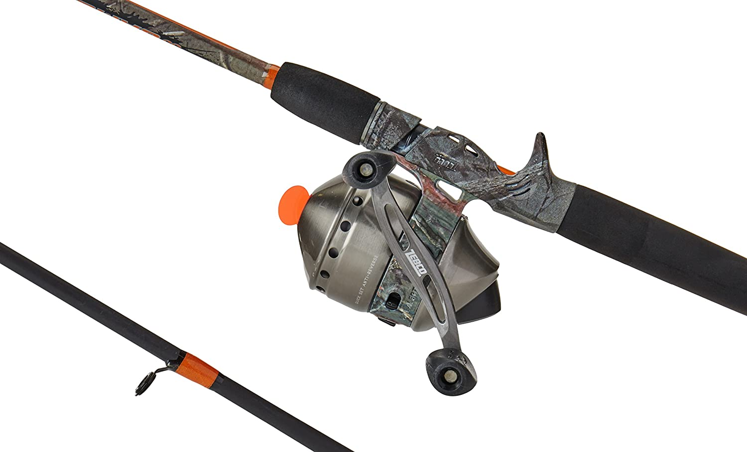 Zebco 33 Max Camo Medium Heavy Spincast Combo 2-Piece , 6.6-Feet