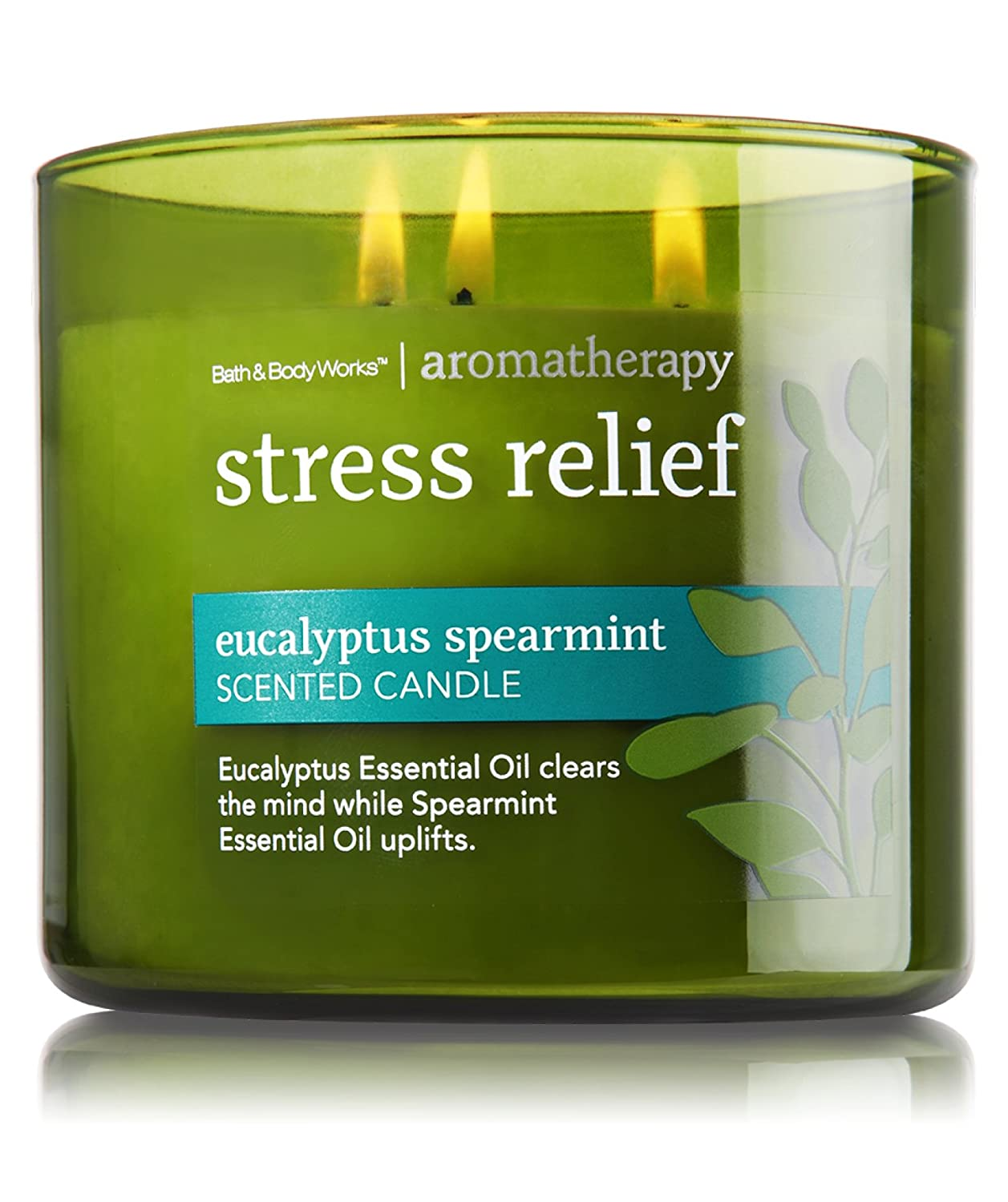 Bath & Body Works, Aromatherapy 3-Wick Candle