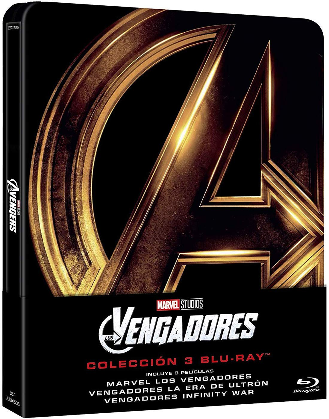 Steelbook Trilogía: Avengers [Blu-ray]: Amazon.es: Robert Downey ...