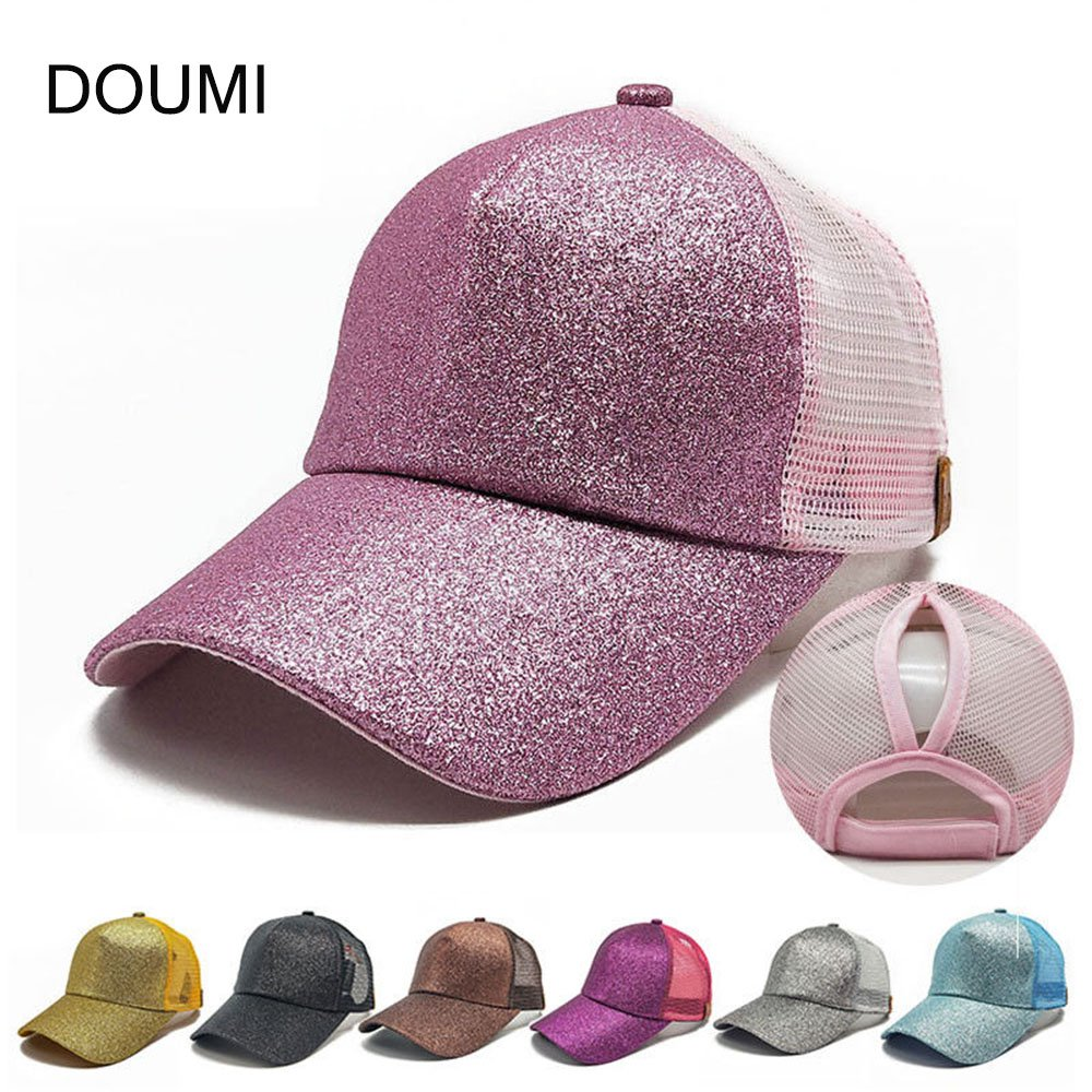 5e2575e4e6360 DOUMI Ponytail Baseball Cap