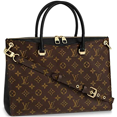 8da6b8419ded Louis Vuitton Monogram Canvas Pallas Noir Handbag Article  M42756 Made in  France  Handbags  Amazon.com