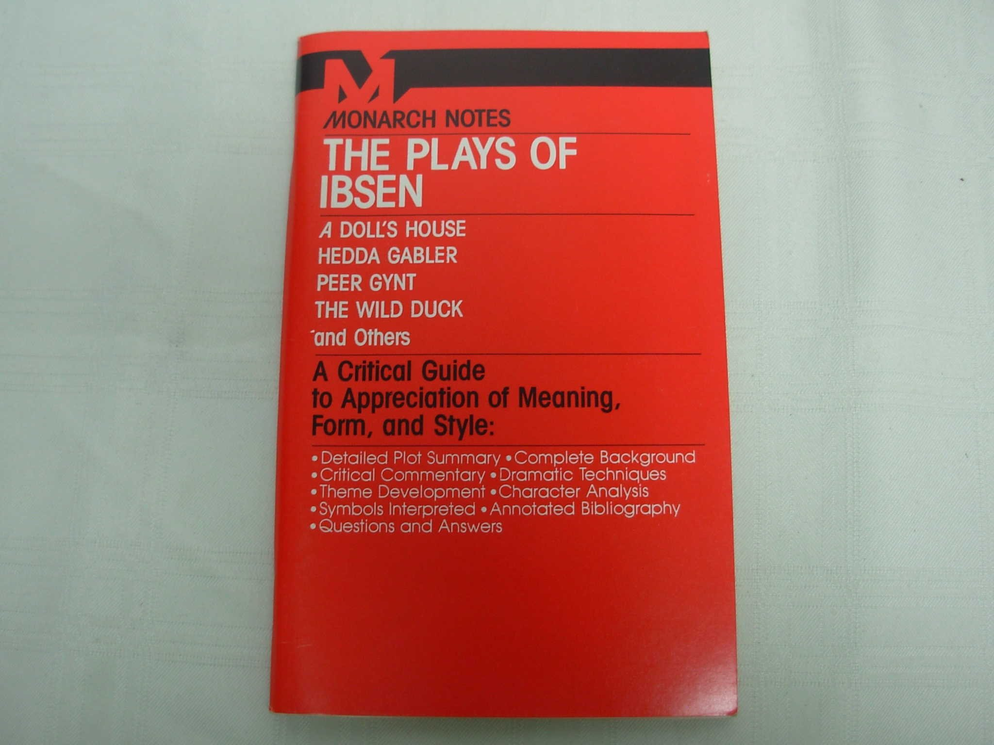Amazon The Plays Of Ibsen A Dolls House Hedda Gabler Peer