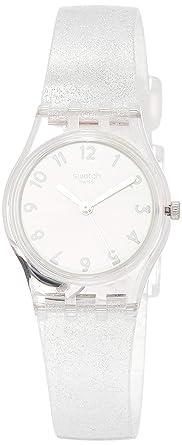 Swatch Reloj Analógico para Mujer de Cuarzo con Correa en Silicona LK343E