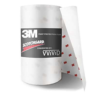 3M Scotchgard Clear Paint Protection Bulk Film Roll 6-by-72-inches: Automotive