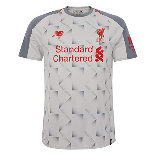 Amazon.com   New Balance 2018-2019 Liverpool Third Football Shirt ... 52a278184