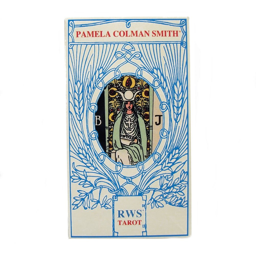 Green Cross Toad RWS Tarot by Pamela Colman Smith, 78 Cards Rider