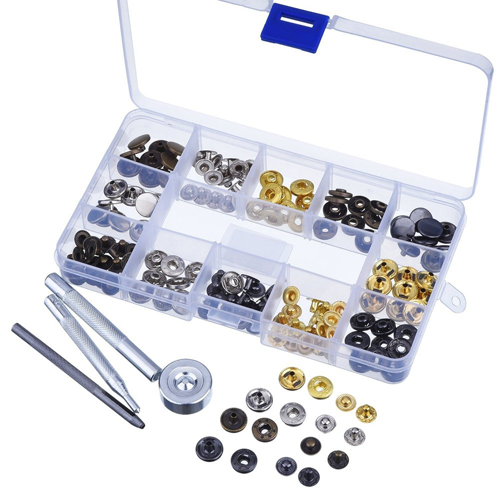 18 Pcs Leathercraft Punch Tool Kit Stitching Carving Working Sewing Saddle Groover for DIY