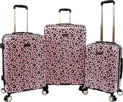 Pink 3PC Luggage Travel Set