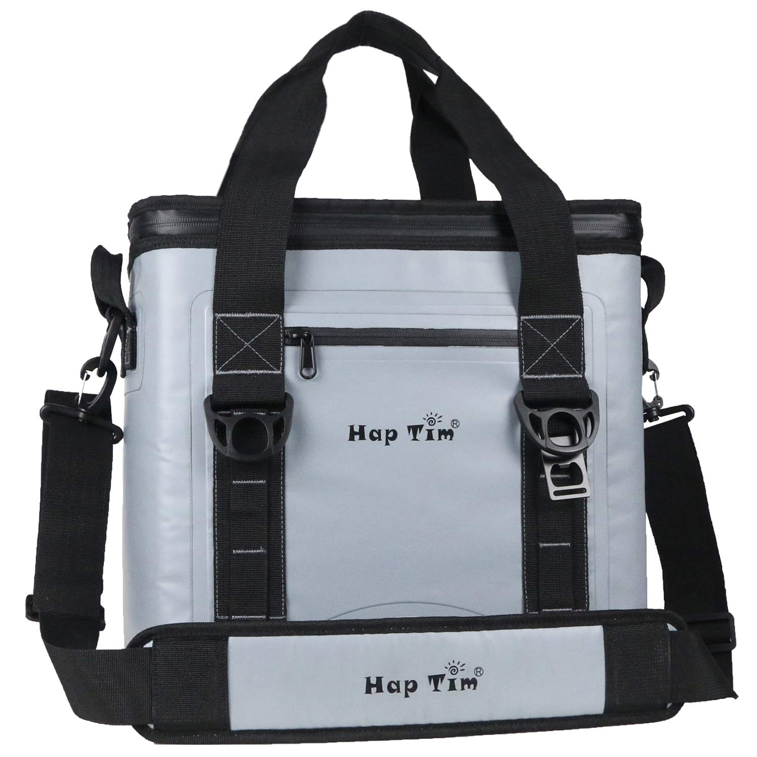 Hap Tim Cooler Bag 30 Cans Leak-Proof Soft Cooler, Portable Ice Cooler for Beach, Hiking, Camping, Picnic, Party, Sports, Sea Fishing (TL52005-G) by Hap Tim