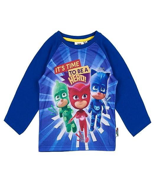 PJ Masks Chicos Camiseta mangas largas - Azul - 98