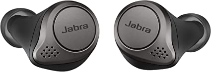 Amazon Com Jabra Elite 75t Earbuds True Wireless Earbuds With Charging Case Titanium Black Bluetooth Earbuds With A More Comfortable Secure Fit Long Battery Life And Great Sound Quality