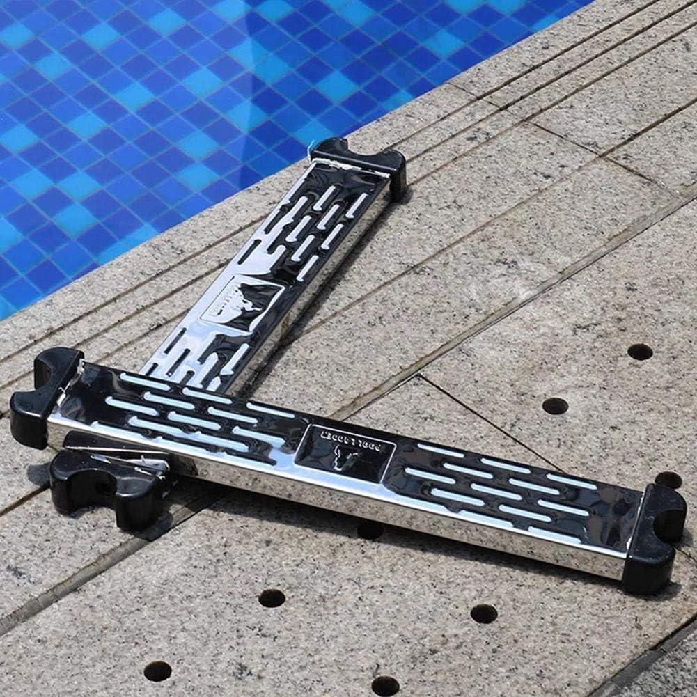 Pedal De Escalera para Piscina Escalera De Repuesto De Acero Inoxidable Pedal De Escalera Antideslizante Accesorios para Pelda/ños De Pelda/ño De Piscina Nuevo
