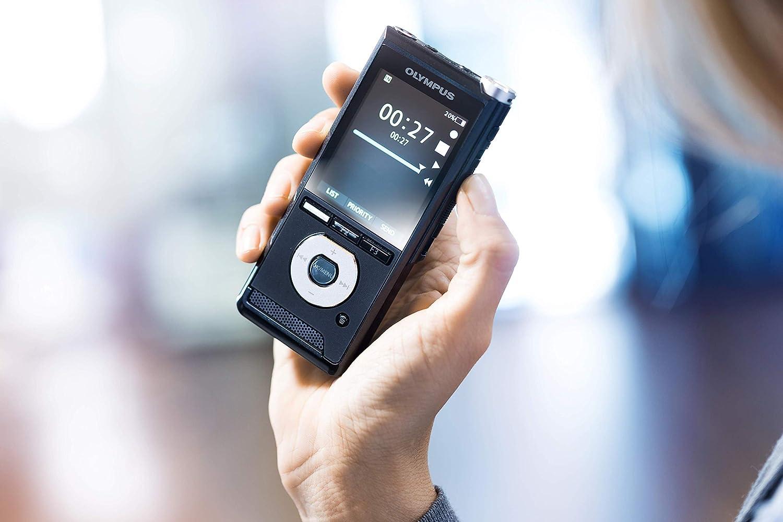 PCM SD-Karten-Slot interner Speicher Olympus DS-2600  Digitales Diktierger/ät mit Schreibfunktion mittels Spracherkennungs- /& Diktatmanagement-Software  DSS Pro USB Integr MP3 Schiebeschalter