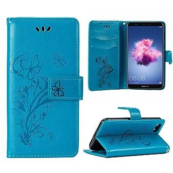 OFU Funda Piel para Huawei P Smart Smartphone Case,Soporte ...
