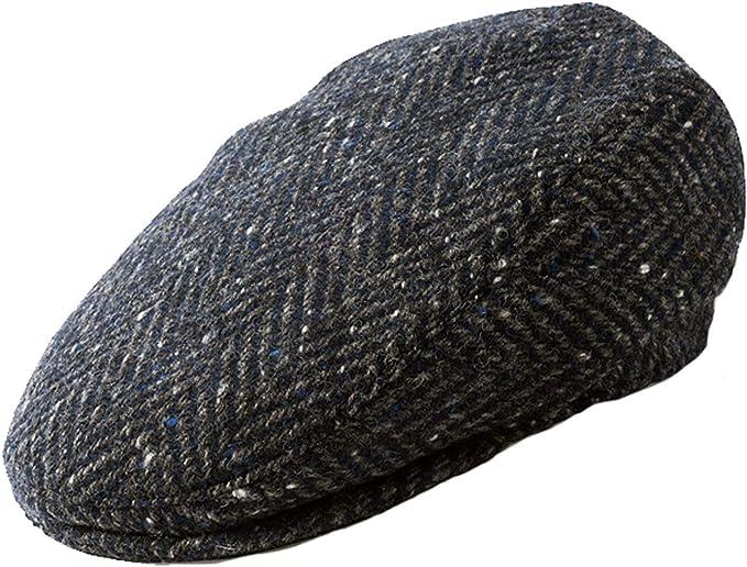 Failsworth Donegal Wool Flat Cap