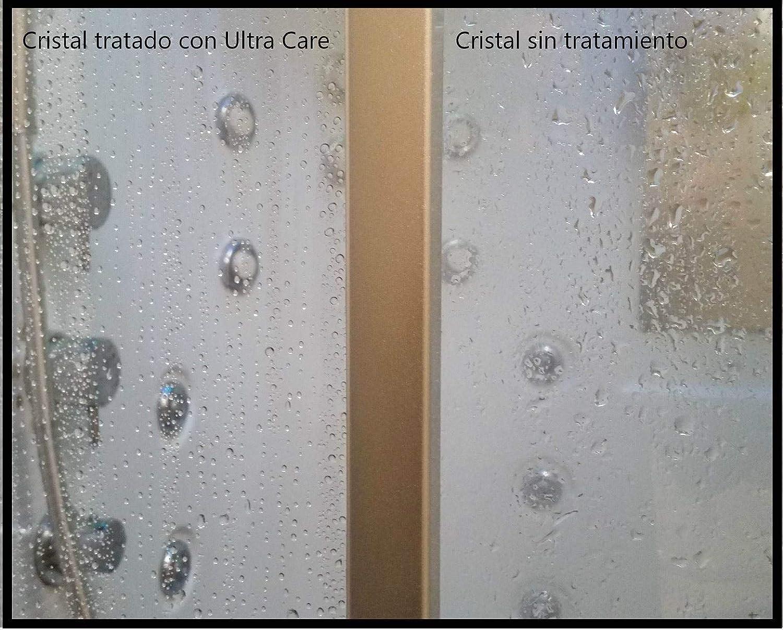 Kit de productos para quitar la cal de la mampara de ducha y aplicarle protección antical | Contiene 3 envases diferentes para aplicar por pasos: Amazon.es: Bricolaje y herramientas