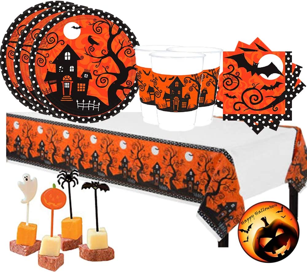 Frightfully Fancy Halloween Party Supplies by Amscan