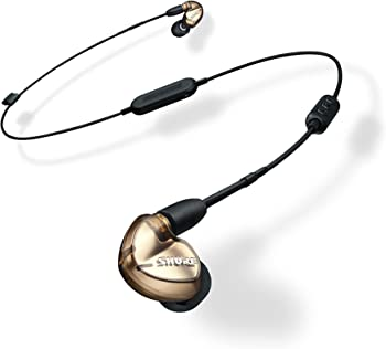 Shure Sound Isolating Earphones with Bluetooth Communication Cable