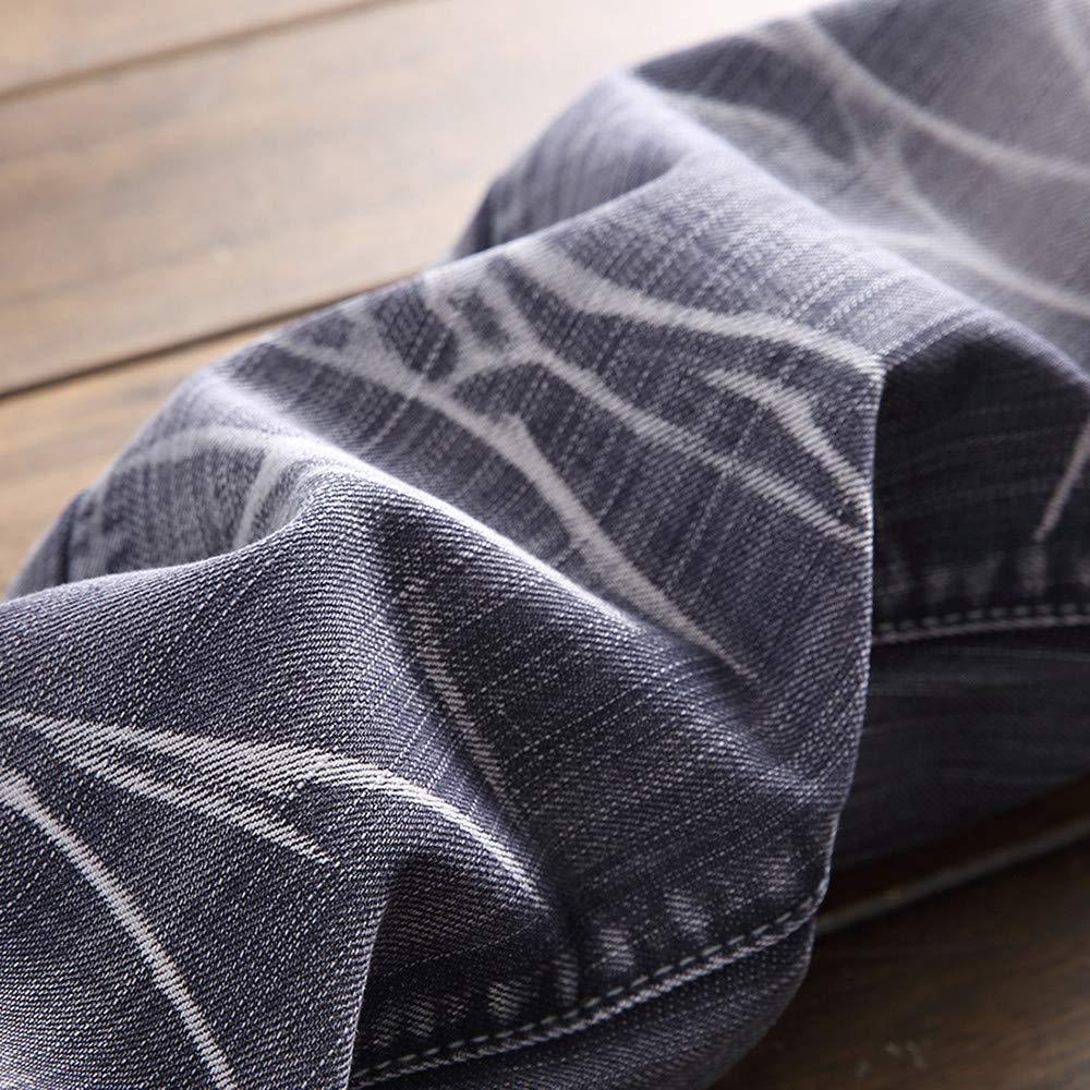 Logobeing Jeans Skinny Slim Fit Vaqueros Pantalones de ...