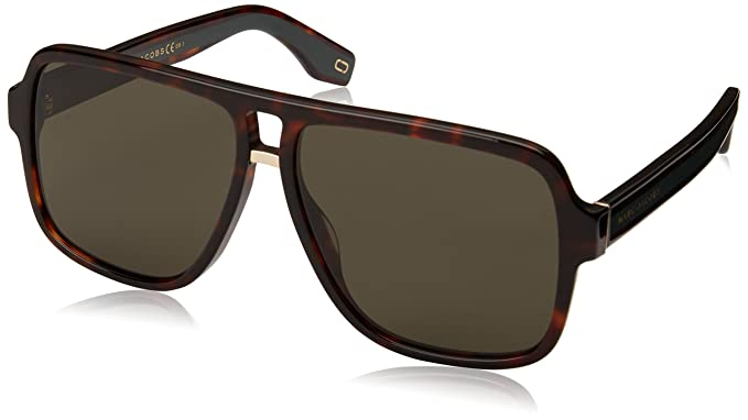 41192a0a33f3 Marc Jacobs MARC 273 S DARK HAVANA GREEN men Sunglasses  Amazon.co.uk   Clothing
