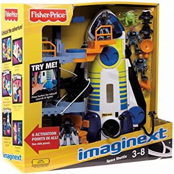Lot 5 Random Mixed Fisher Price Imaginext Adventure Space Shuttle Action Figure