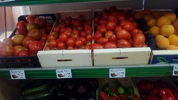 Pack 48 Tarjetas PVC Porta Precios para Frutas Y Verduras + ...