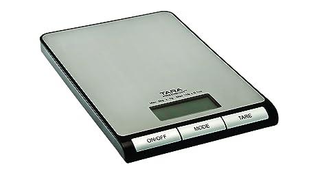 Amazon.com: Tara Precisión 11 pound báscula de cocina ...