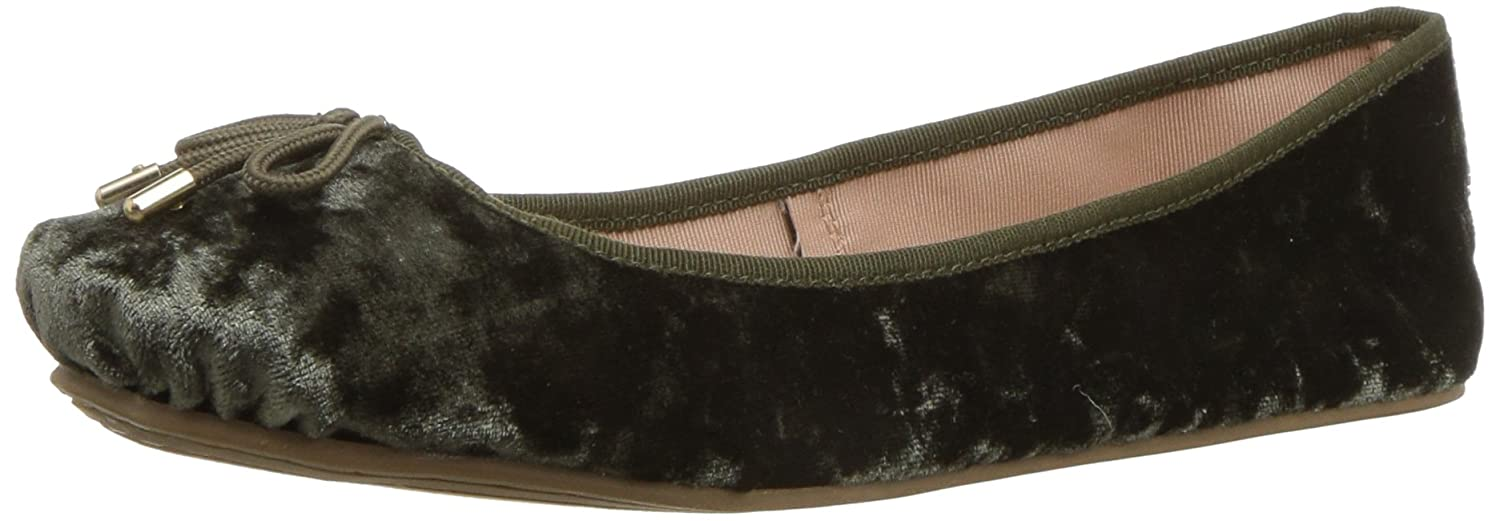 LFL by Lust for Life Women's Tinker Ballet Flat B074RBL7MJ 7 B(M) US|Olive