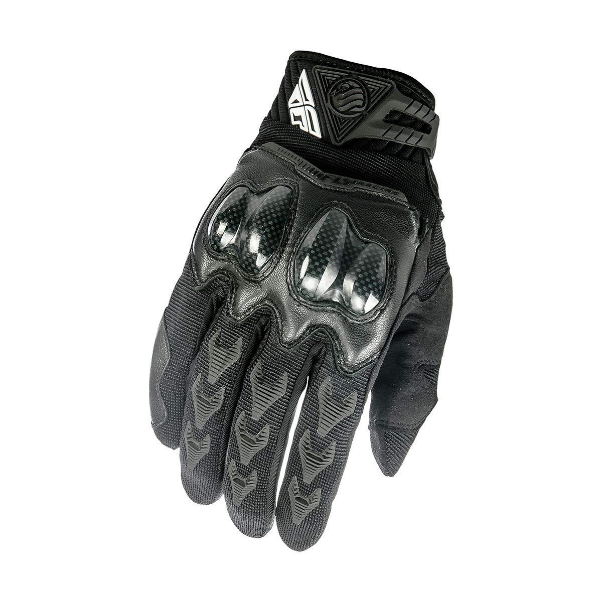 Fly Racing Unisex-Adult Patrol XC Gloves Black Size 11 369-06011