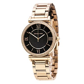 ea15c272b431 Amazon.com  Michael Kors Women s MK3356 - CATLIN Rose Gold Tone ...