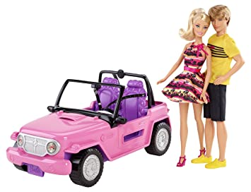Mattel Barbie - Coche Playa